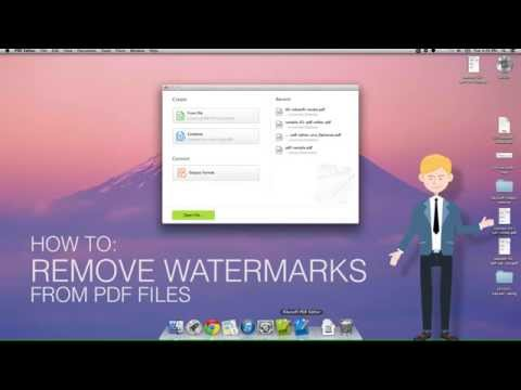 Top 3 Programs for Removing Watermark from PDF Online