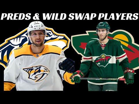NHL Trade - Wild & Predators Trade Players & Picks