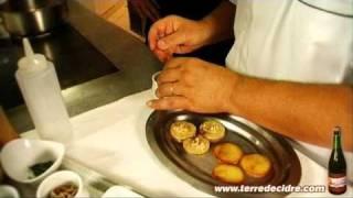 Recette Selle d'agneau rôtie au cidre d'automne