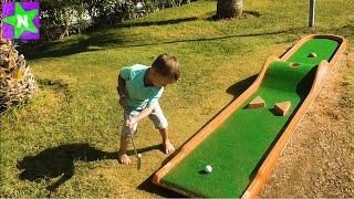 ★ Турция День #4 Играем в Мини-Гольф на Территории Отеля Play Mini-Golf. Long Beach Resort Hotel