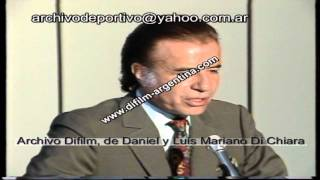Ley de Convertibilidad - Carlos Menem - DiFilm (1991)