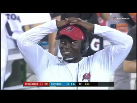 Hearing Heartbreak E2: Panthers Fail to Convert 4th down vs Bucs Week 2, 2019 (Panthers Announcers)