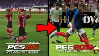 eVOLUTION OF PES MOBILE / Pes 2017 Vs Pes 2018 Vs Pes 2019 Vs Pes 2020 Mobile Trailer