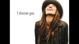I Choose You (Sara Bareilles) - Lyric Video
