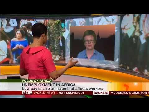 Elizabeth Stuart on Focus on Africa, BBC World News