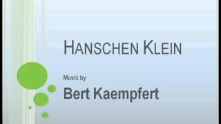 Gambar cover Bert Kaempfert - Hanschen Klein