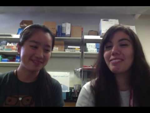 Charmaine Chan & Rocio Ochoa - High School Stem Cell Research Intern June 2013