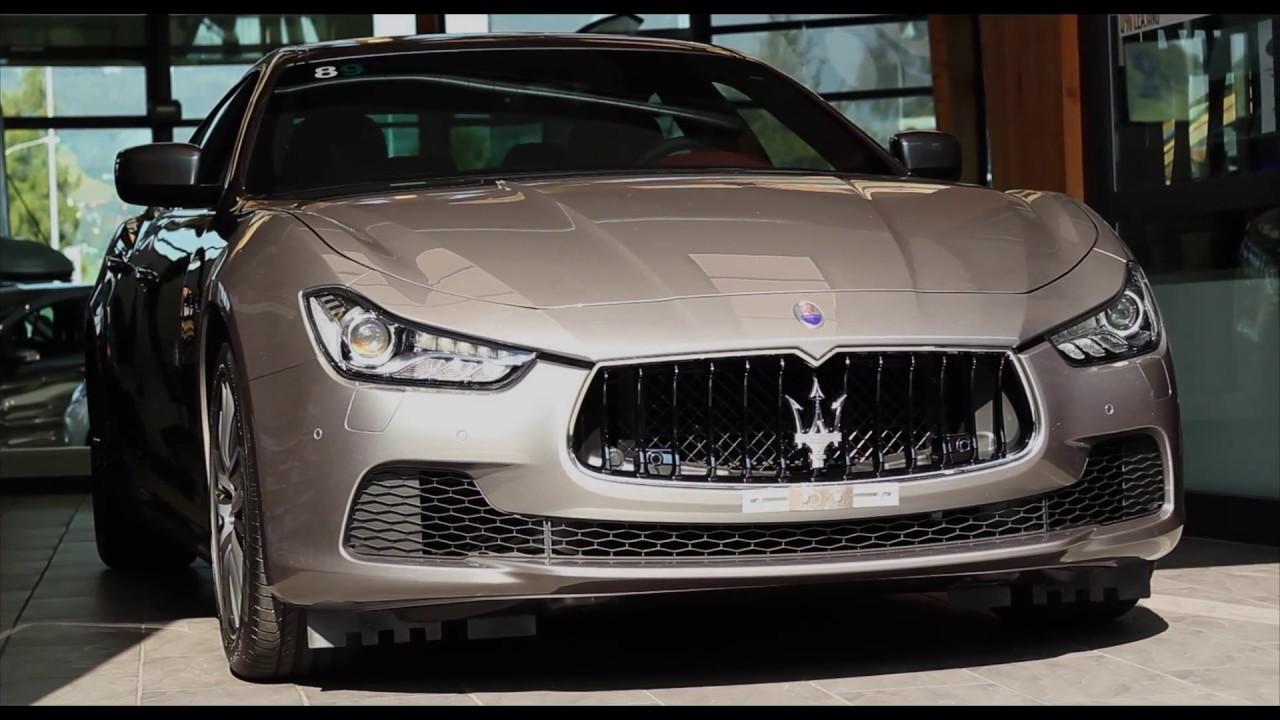 2016 Maserati Ghibli 3.0 V6 Diesel - YouTube
