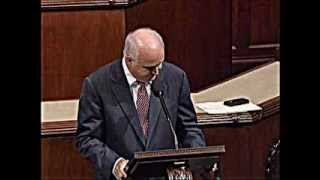 Congressman Joseph R Pitts Exposes Eugenics Program on House Floor