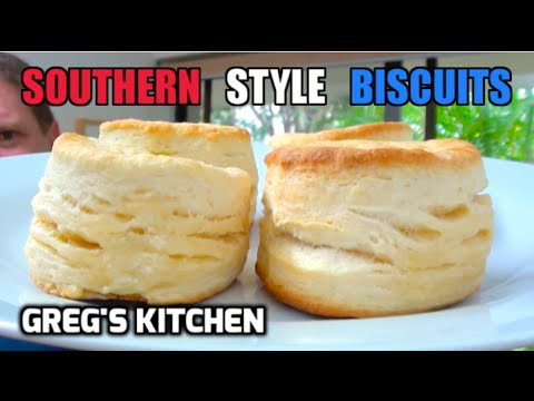 HOW TO MAKE BISCUITS - 3 Ingredients - Gregs Kitchen