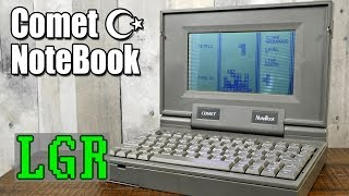 Exploring the Comet Notebook: 1997 computer... thing