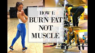 HOW TO LOSE WEIGHT, BURN FAT & STAY MOTIVATED + EXERCISES FOR A ROUNDER BUTT!