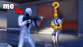 I Pretended to be a Henchmen to Protect MIDAS (Fortnite)