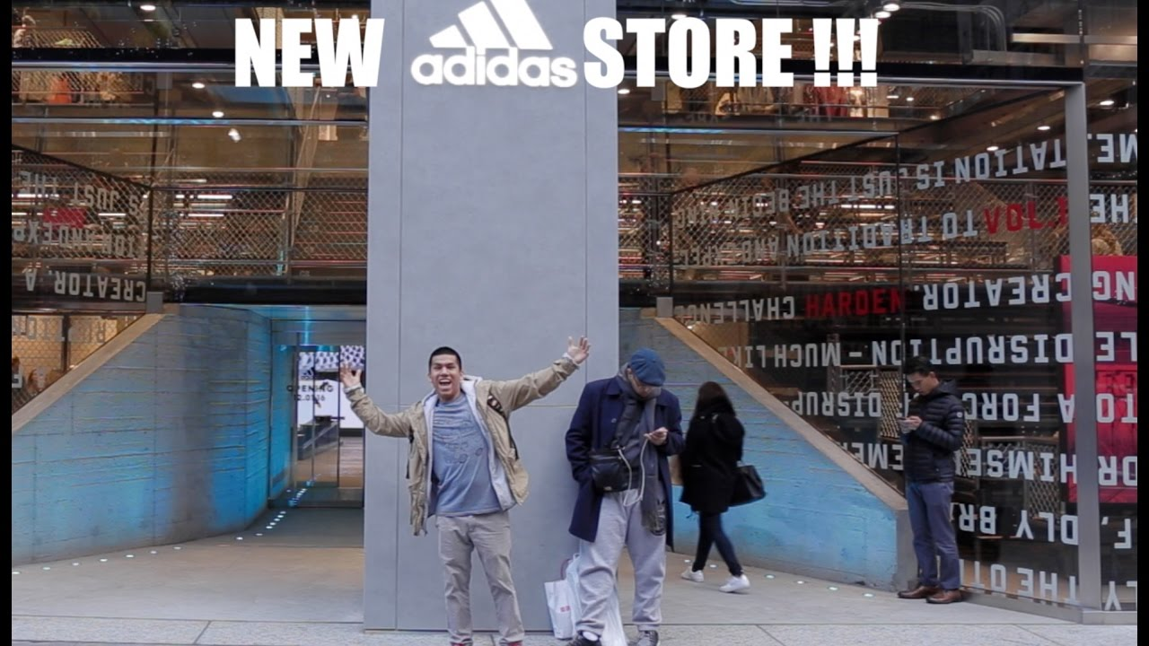 adidas times square nyc