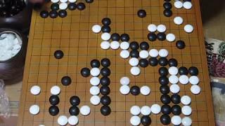 MR囲碁519 安井仙知57歳・服部雄節31歳2子8目勝 1833年 御城碁