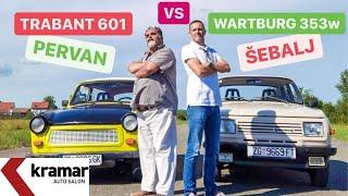 Wartburg 353w vs Trabant 601 - 1na1 - Pervan i Jura