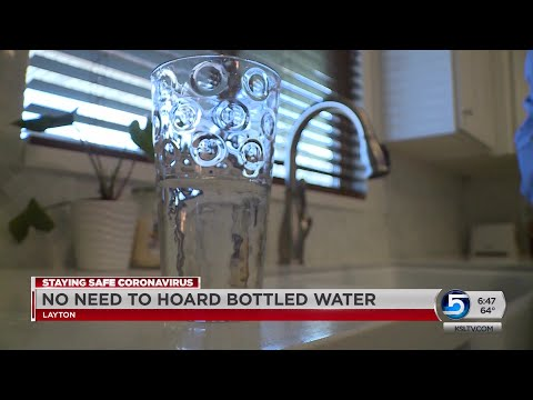 Utility Officials: Utah's Water Is Safe; Stop Hoarding Bottled Water