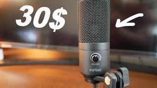 Бюджетный микрофон для Youtube до 2000 рублей