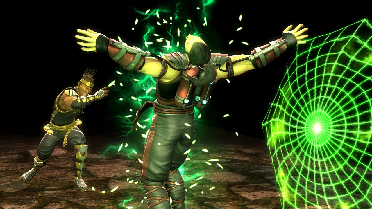 Cyrax Fatalities Babality Mortal Kombat 9 2011 1080p 60fps