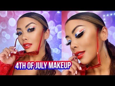 4th of July Makeup Tutorial | Liane V thumbnail