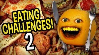 Annoying Orange - Eating Challenges Supercut #2