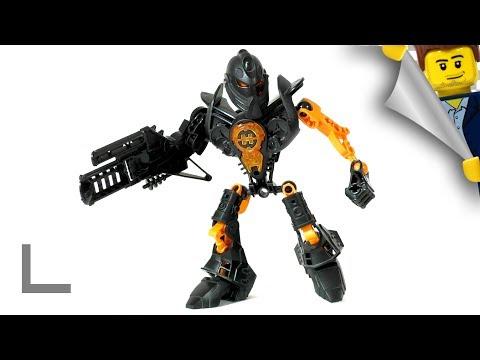 Обзор набора Lego Hero Factory #7170 Джими Стрингер (Jimi Stringer)