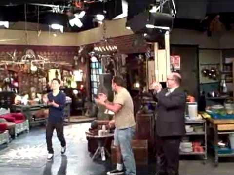 wizards of waverly place taping youtube