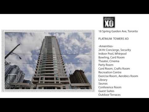 ★★★ Platinum Towers XO at 18 Spring Garden Ave - Buy Rent Condo in North York (Sheppard and Yonge)