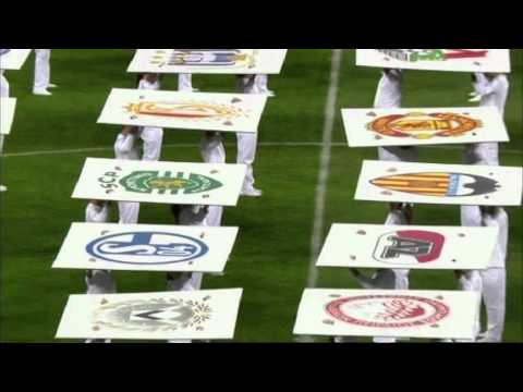 Uefa europa league 2012 - opening ceremony in bucharest
