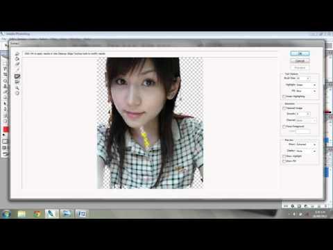 Thủ thuật cắt ảnh trong photoshop cs2/Trịnh luân vlogs