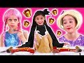 PRINCESS CHRISTMAS LUNCH 🦃 Malice Cooking Pranks + Gifts! - Princesses In Real Life | Kiddyzuzaa
