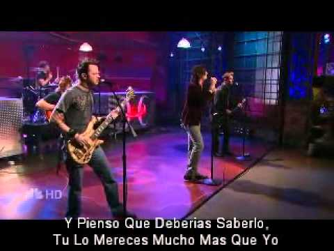 Hinder - Better Than  Me (Live) Sub Español