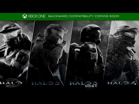 Halo Games NOW on Xbox One! - Halo CEA, 3, 4, ODST -  Backwards Compatibility Launch!