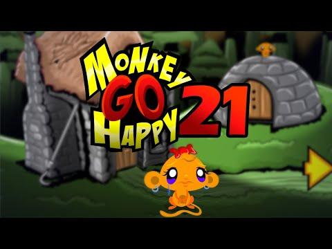 """Игра """"Счастливая Обезьянка 21"""" (Monkey GO Happy 21) - прохождение"""