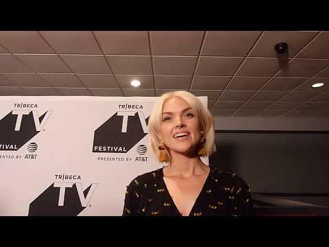 Erin Richards at the Tribeca TV Festival