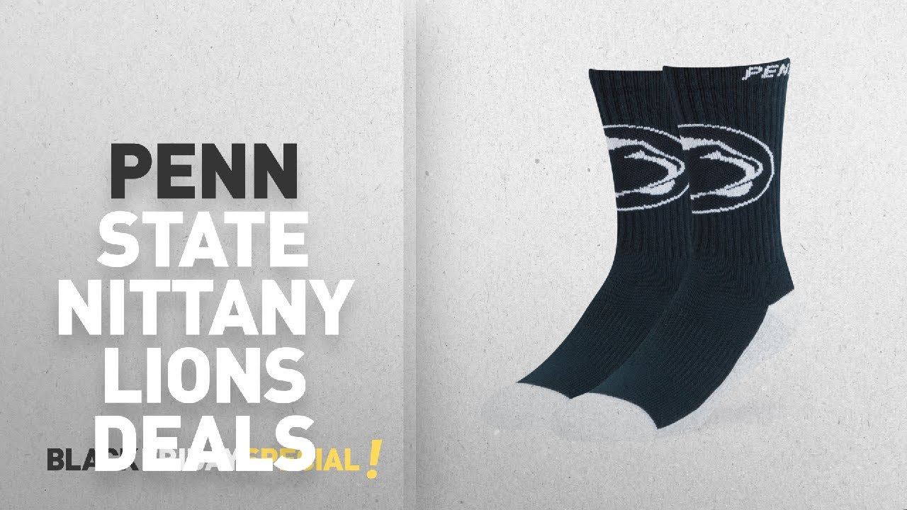 uk availability fc900 9b077 Black Friday Penn State Nittany Lions Deals  NCAA Penn State Nittany Lions  OTS Anthem Sport Sock,