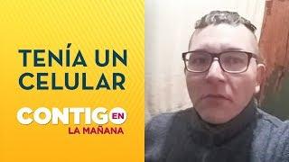 CELULAR EN LA CÁRCEL: Francisco Silva subió selfie a su perfil de Facebook - Contigo en La Mañana