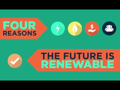 Four Reasons the Future is Renewable