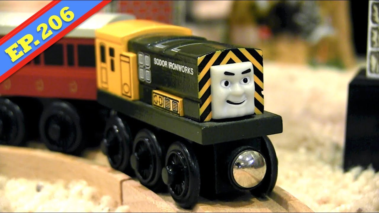 Dirty Arry Thomas Friends Wooden Railway Adventures Episode 206