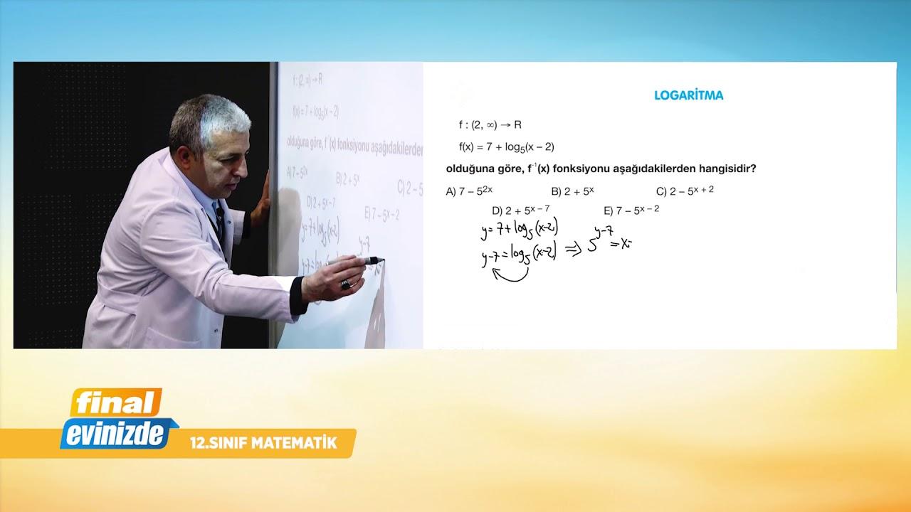 TYT - AYT  Matematik Dersi Bölüm 1 / 23 Mart 2020 Pazartesi / Final Yayınları