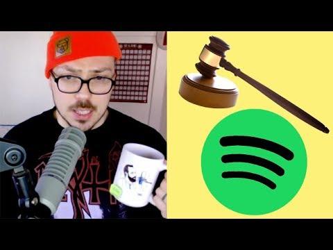 Spotify SUED For 1.6 Billion Dollars!