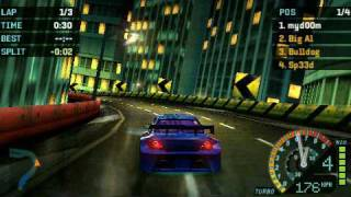 PSP Need For Speed Underground Rivals Gameplay