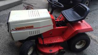 Yardman riding lawn mower for sale SOLD