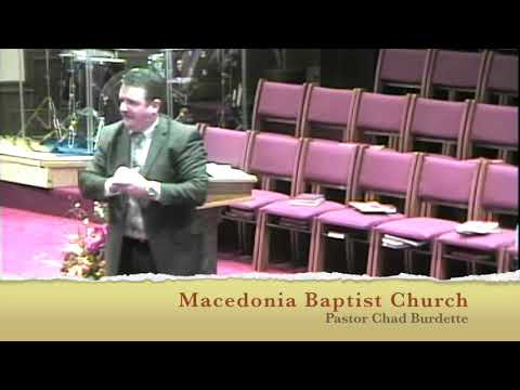 Macedonia Batpist Church    Pastor Chad Burdette   Detours and Destiny Series   The Pain of the Proc