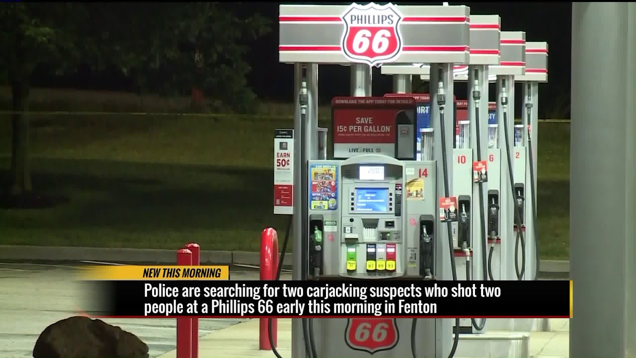 Police Searching For Suspects After Two People Were Shot During Carjacking