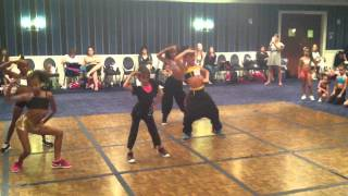 Me in Bobby Newberry's class (The Dance Awards 2012)