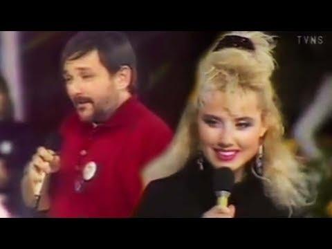 Lepa Brena i Djordje Balasevic - Becarac - Muzicki tobogan - (TV NS 1989/90)