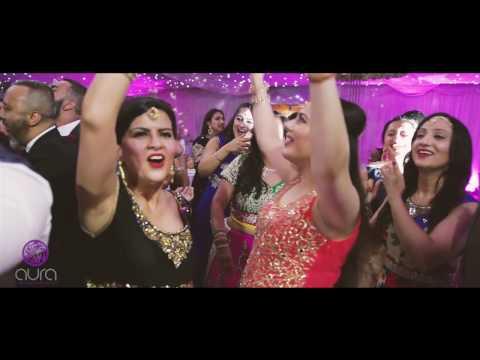 AJD || AWARD WINNING DJ || LIVE FOOTAGE, LONDON, UK (INDIAN / ASIAN / PUNJABI WEDDING)
