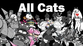 Battle Cats Cat Guide | All Cats