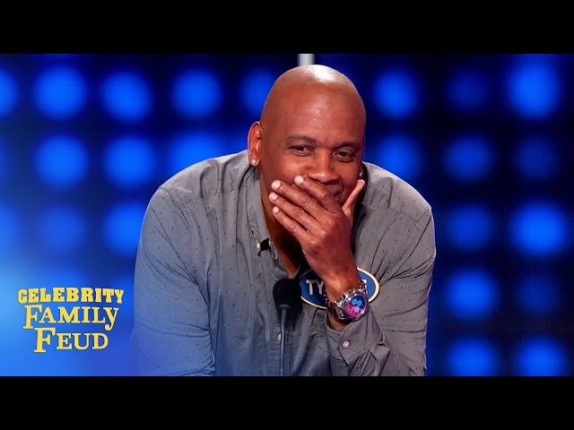 Worst Celebrity Family Feud answer of all time?